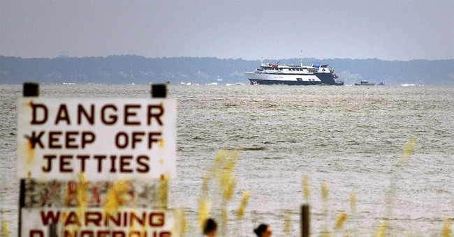 After 16 hours, an exit from stalled casino boat