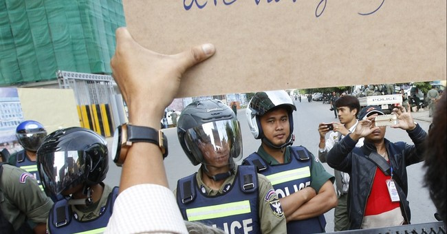 Cambodian opposition MPs charged with insurrection