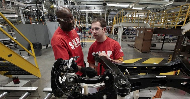US factory output rises for 5th straight month
