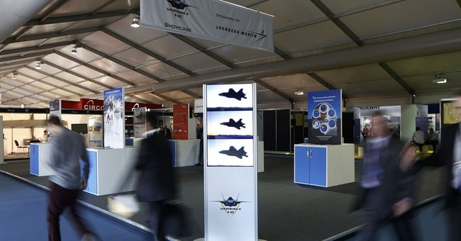 F-35's no-show at Farnborough disappoints