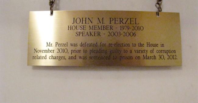Criminal history on Pennsylvania Capitol portraits