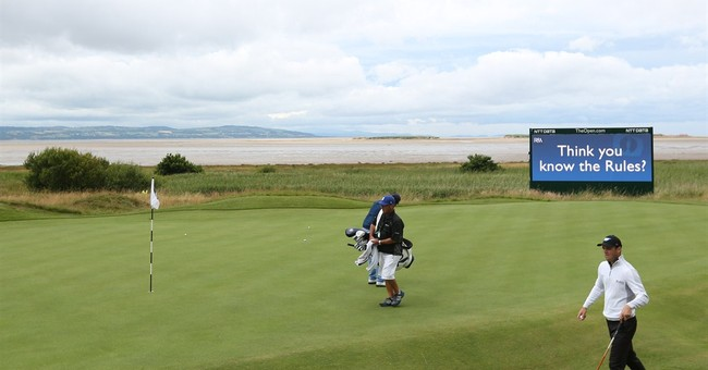 With Wi-Fi and LED, British Open has modern feel