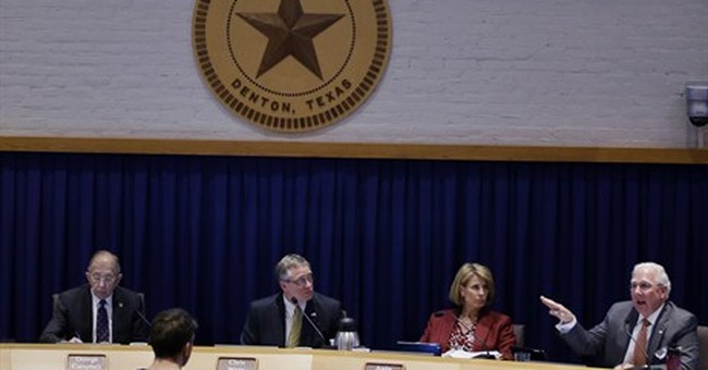 Texas city weighs ban on new fracking permits