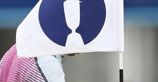 Police: Stolen British Open golf cart hurts guard