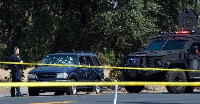 3 dead in California bank robbery, gunbattle