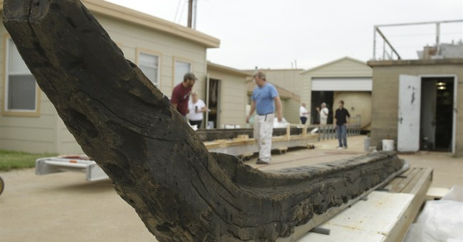 17th century shipwreck on the move in Texas