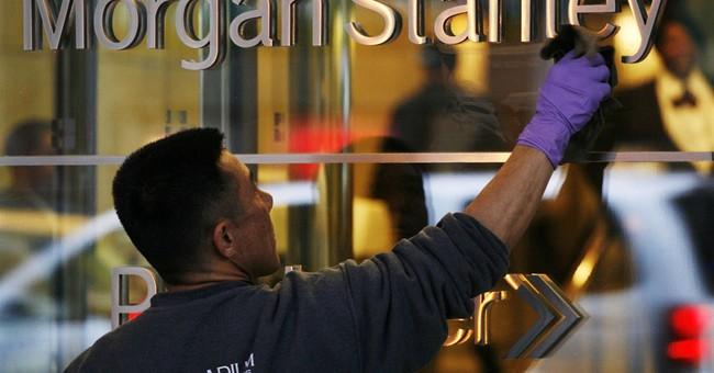 Morgan Stanley quarterly profit more than doubles