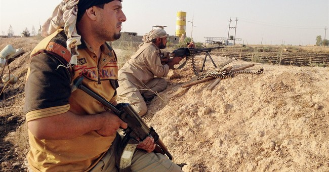 Iranian commanders on front line of Iraq's fight
