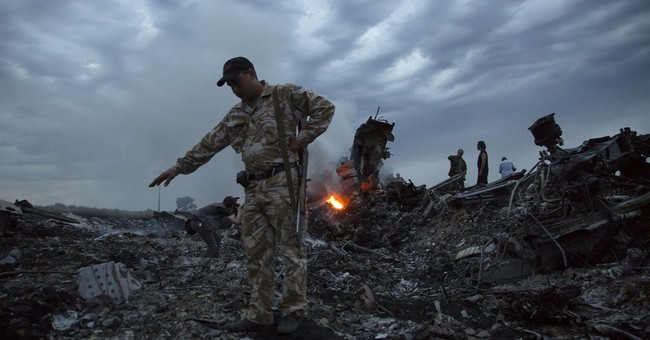 AP source: Missile took down jet in Ukraine