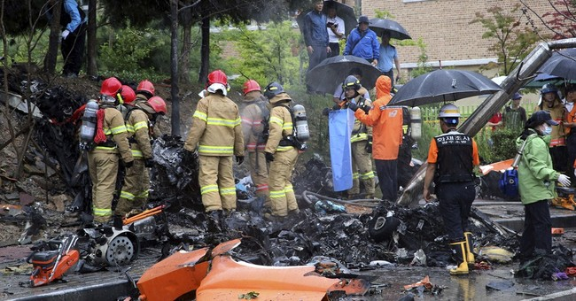 5 dead after helicopter crash in South Korea