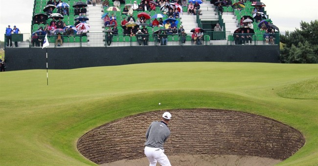 British Open underway with all eyes on Tiger