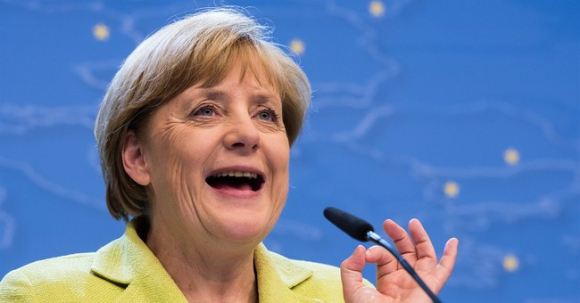 Merkel kicks off 60th with impromptu serenade