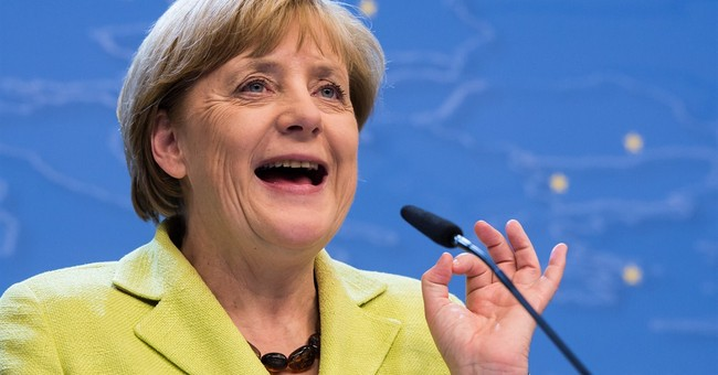 Merkel kicks off 60th with impromptu serenade