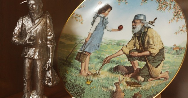 Some folklore tales told about Johnny Appleseed