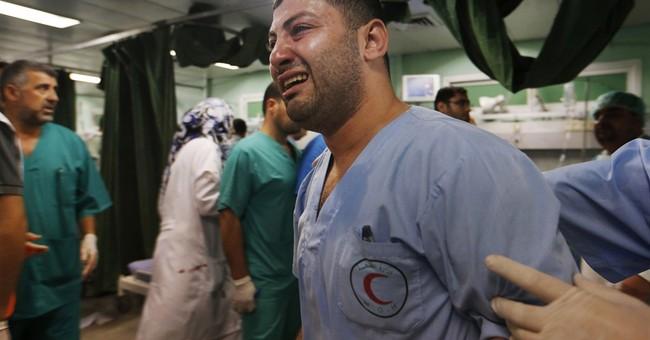 Israeli bulldozers destroy Hamas tunnels in Gaza