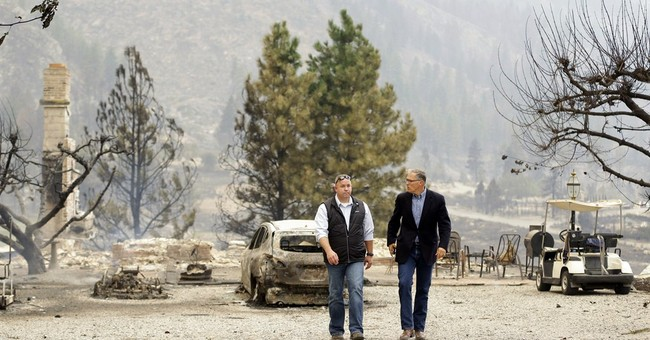 Wildfires bring destruction to central Washington