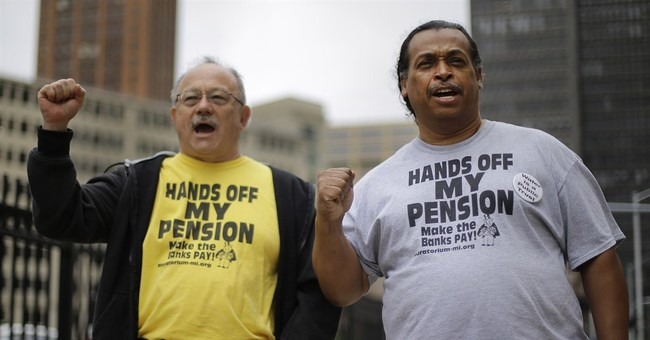 Detroit retirees vote in favor of pension cuts