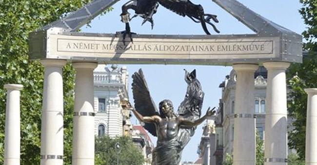 Hungary sets up disputed 1944 memorial