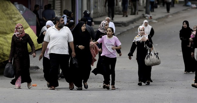 Scores dead in first major ground battle in Gaza