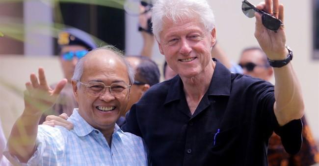 Bill Clinton won't 'jump the gun' on wife's plans