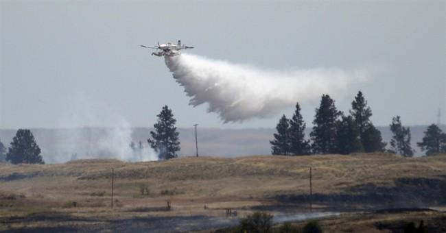 Better weather aiding Washington wildfire fight