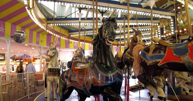 Jersey shore carousel up for auction