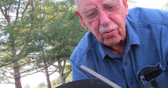 At 101, weather observer gets a place in the sun