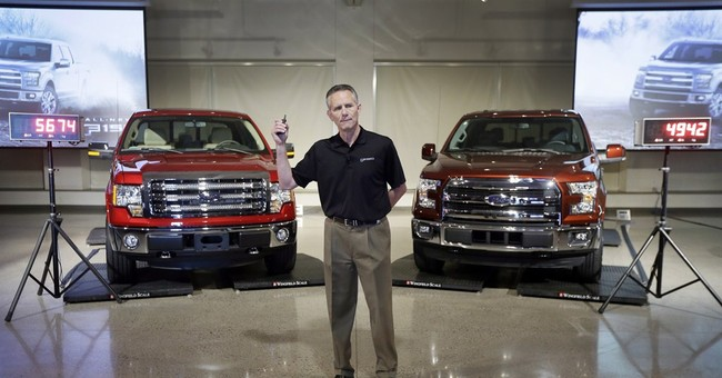 Ford says new F-150 can compete with rivals