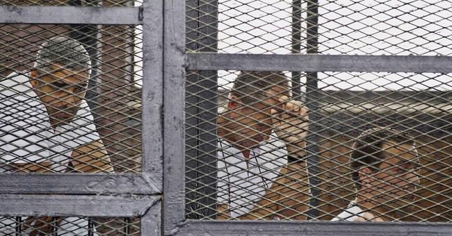 """Egypt judge: Al-Jazeera team did """"devil's"""" work"""