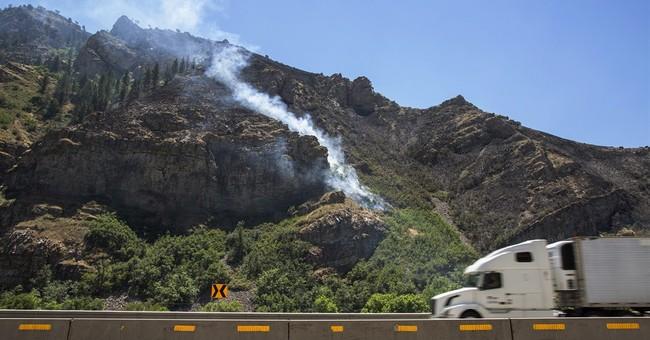 Fire season in West so far is below expectations