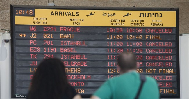 European carriers suspend more Tel Aviv flights