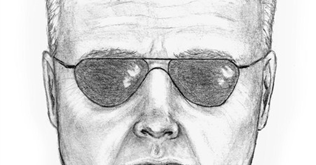Officials release sketch in peacock shooting death