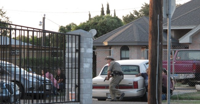 Suspect in Texas police shooting 'presumed dead'