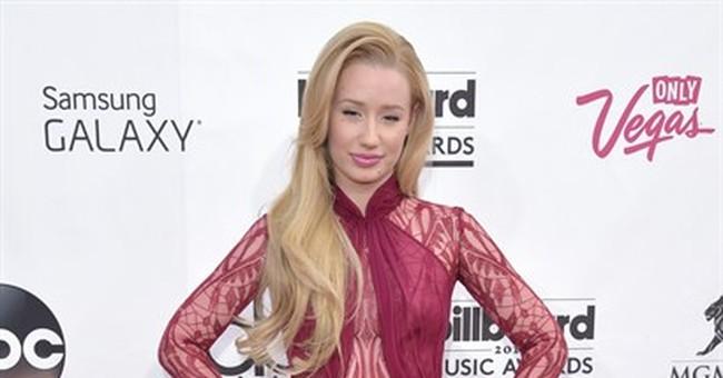 Pop star Azalea talking fashion on MTV