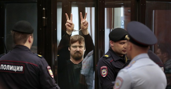 Russians sentenced to 4 ½ years on riot conviction