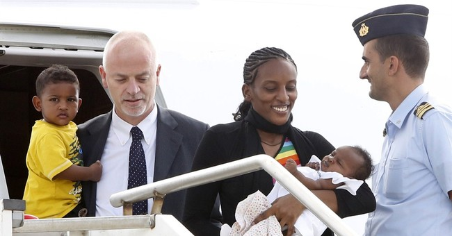 Pope meets Sudanese woman sentenced to death