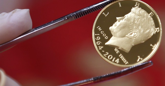 JFK returns to old look in new collectors' coins
