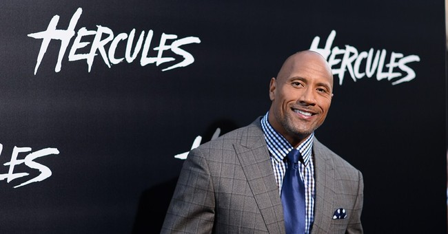 Dwayne Johnson holds surprise 'Hercules' screening