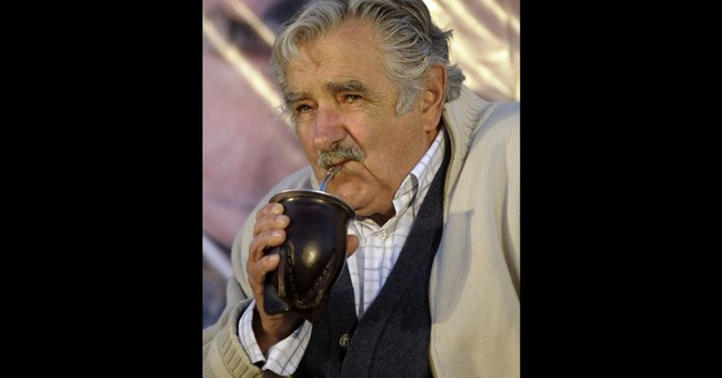 Uruguay leader thirsty for Paraguay's yerba mate