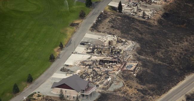 Sheriff: 300 homes burned in Washington wildfire