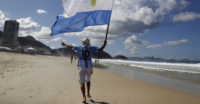 World Cup over, but some Argentines won't go home