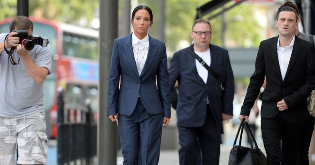 Ex-'X Factor' judge Tulisa fined for blogger blow