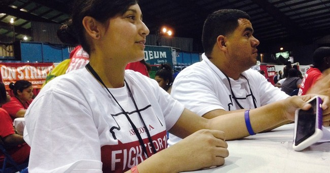 Clarification: Fast Food Workers-Convention story