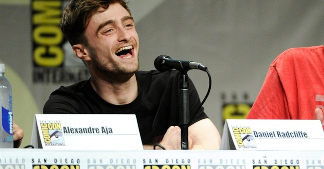 Radcliffe goes undercover as Spidey at Comic-Con