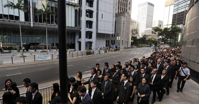 In Chinese shadow, Hong Kong fights for its future