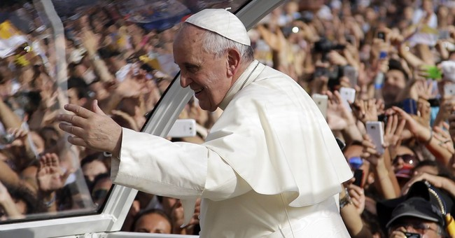 Pope goes to stronghold of Naples-area mobsters