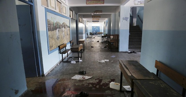Israel acknowledges mortar shell hit UN school