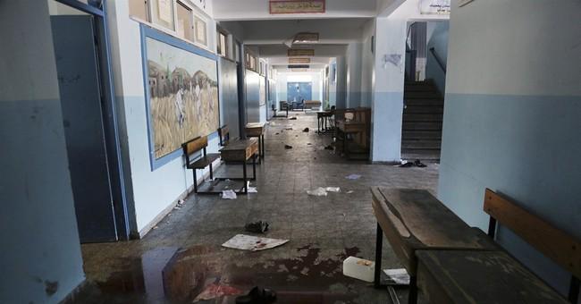 Israel acknowledges mortar shell hit UN school