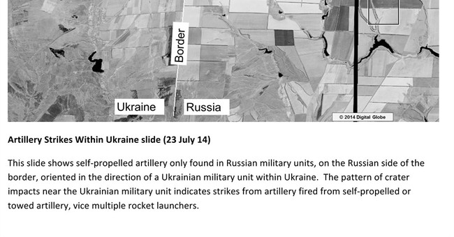US: Russia has fired rockets into Ukraine