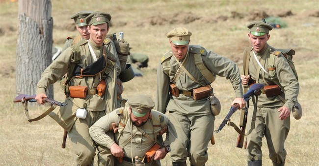 Key World War I battle re-enacted in Poland